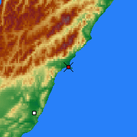 Nearby Forecast Locations - Kaikoura - Map