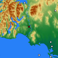 Nearby Forecast Locations - Clifden - Map