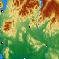Nearby Forecast Locations - Lumsden - Map