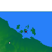 Nearby Forecast Locations - Centre Island - Map