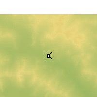 Nearby Forecast Locations - Leonora Airport - Map