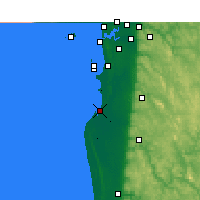 Nearby Forecast Locations - Mandurah - Map