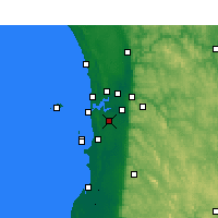 Nearby Forecast Locations - Jandakot - Map