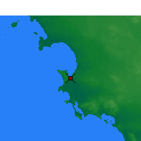 Nearby Forecast Locations - Streaky Bay - Map