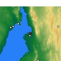 Nearby Forecast Locations - Port Pirie - Map