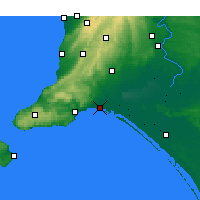 Nearby Forecast Locations - Hindmarsh Isl. - Map