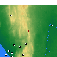 Nearby Forecast Locations - Eudunda - Map