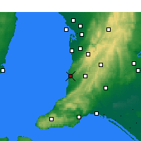 Nearby Forecast Locations - Noarlunga - Map