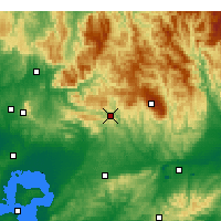 Nearby Forecast Locations - Noojee - Map