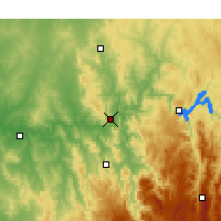 Nearby Forecast Locations - Gundagai - Map