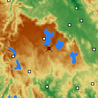 Nearby Forecast Locations - Barren Tier - Map