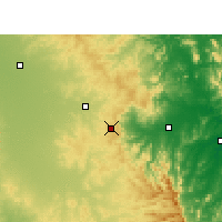 Nearby Forecast Locations - Toowoomba - Map