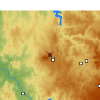 Nearby Forecast Locations - Orange - Map