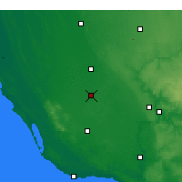 Nearby Forecast Locations - Penola - Map