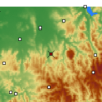 Nearby Forecast Locations - Edi Upper - Map