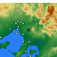 Nearby Forecast Locations - Scoresby - Map