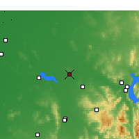 Nearby Forecast Locations - Corowa - Map
