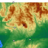 Nearby Forecast Locations - Mount Baw Baw - Map