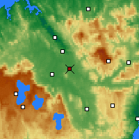 Nearby Forecast Locations - Powranna - Map