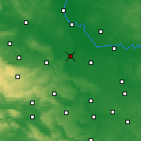 Nearby Forecast Locations - Bernburg - Map