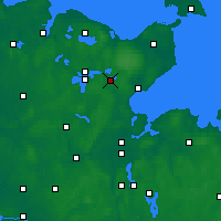 Nearby Forecast Locations - Eutin - Map
