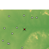 Nearby Forecast Locations - Baloda Bazar - Map