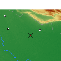 Nearby Forecast Locations - Balrampur - Map
