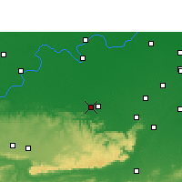 Nearby Forecast Locations - Bhabua - Map