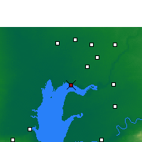 Nearby Forecast Locations - Khambhat - Map