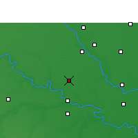 Nearby Forecast Locations - Ghatampur - Map