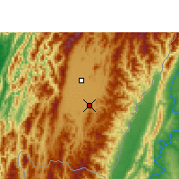Nearby Forecast Locations - Kakching - Map