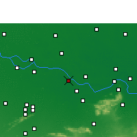 Nearby Forecast Locations - Mokama - Map