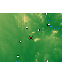 Nearby Forecast Locations - Palwancha - Map
