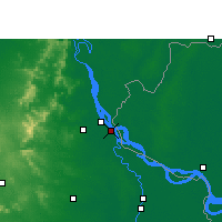 Nearby Forecast Locations - Paschim Punropara - Map