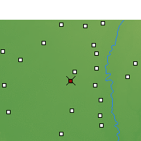Nearby Forecast Locations - Safidon - Map