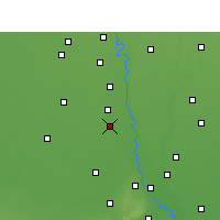 Nearby Forecast Locations - Sonipat - Map