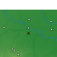Nearby Forecast Locations - Sumerpur - Map