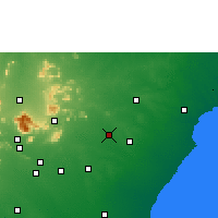 Nearby Forecast Locations - Tirupathur - Map
