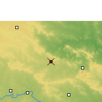 Nearby Forecast Locations - Umarkhed - Map