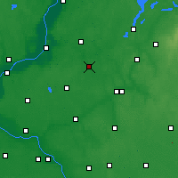 Nearby Forecast Locations - Jabłonowo Pomorskie - Map