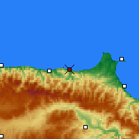 Nearby Forecast Locations - Ayancık - Map