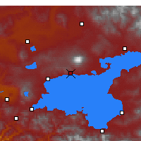 Nearby Forecast Locations - Adilcevaz - Map