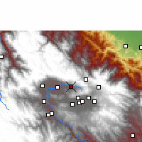 Nearby Forecast Locations - Sacaba - Map