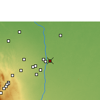 Nearby Forecast Locations - Pailón - Map