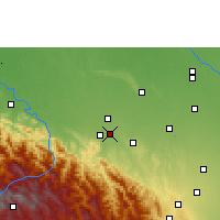Nearby Forecast Locations - Santa Fe de Yapacaní - Map