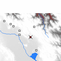 Nearby Forecast Locations - Caracollo - Map