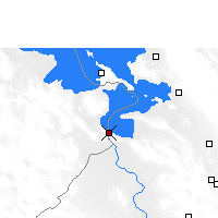 Nearby Forecast Locations - Desaguadero - Map