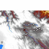 Nearby Forecast Locations - Parotani - Map