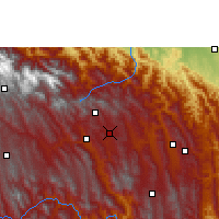 Nearby Forecast Locations - San Isidro - Map