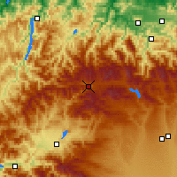 Nearby Forecast Locations - Villablino - Map